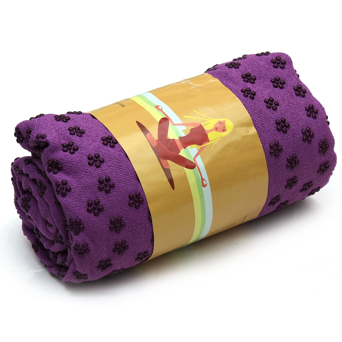 Khăn trải thảm tập Yoga tím